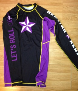 Purple Rashguard Front