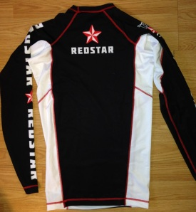 White Rashguard Back
